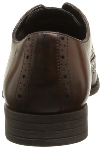 ClarksChart Limit - Scarpe Stringate Uomo, Marrone (Marrone (Brown Leather)), 42