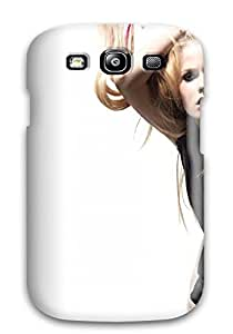 Hot Design Premium ADIMqNW201DEnSS Tpu YY-ONE Galaxy S3 Protection Case(celebrity Avril Lavigne)