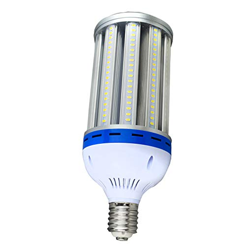 (LED Corn Light Bulb,100Watt E39 Mogul Base,5000K White Color,400-500Watt HPS Replacement (100 Watts))