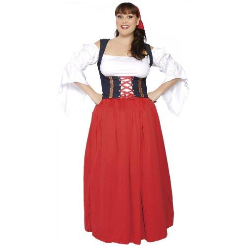 Roma Swiss Miss Costume (Swiss Miss Adult Costume - X-Large)
