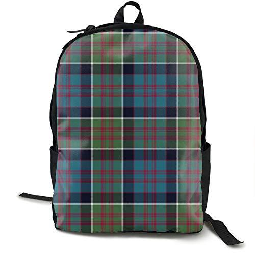 (Backpacks Casual Packback MacDonald Of Clan Ranald Tartan, 7 Muted_106 Daypack for Cycling Hiking Camping Travel Outdoor)