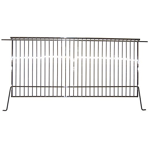 Chrome Bottom Warming Rack, Charbroil, Coleman, Kenmore - 02124