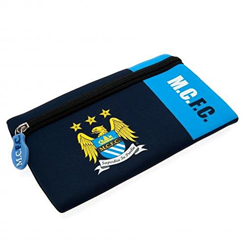Football Gifts - Manchester City Fc Men's Pencil Case (Toddler Manchester City Jersey)
