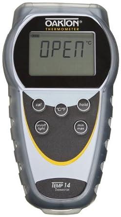 Oakton WD-35426-00 Temp 14 Thermistor Thermometer, -40 to 302°F