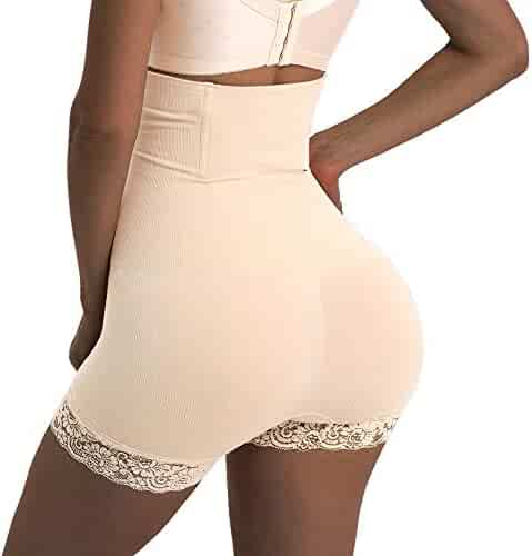 0f543a374 Jason Helen Women Body Shaper High Waist Butt Lifter Tummy Control Panty  Slim