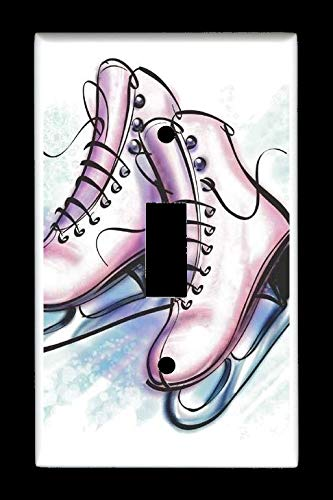 gle) Light Switch Plate Cover - Ice Skating Ice Skates - Sports & Recreation ()