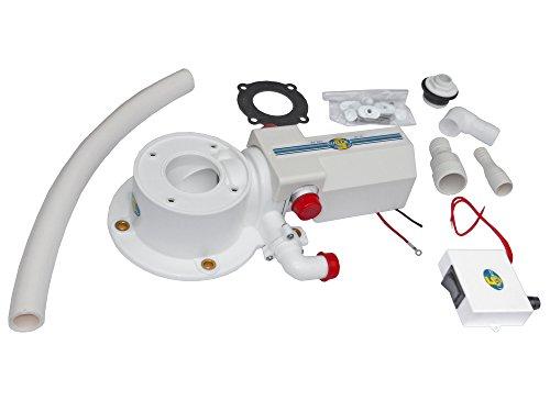 Five Oceans Electric Marine Toilet Conversion Kit - BC (Marine Conversion Kit)