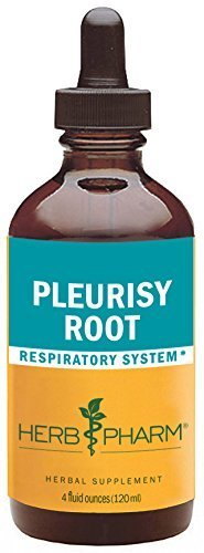 Herb Pharm Pleurisy Root Extract for Respiratory System Support - 4 Ounce by Herb Pharm