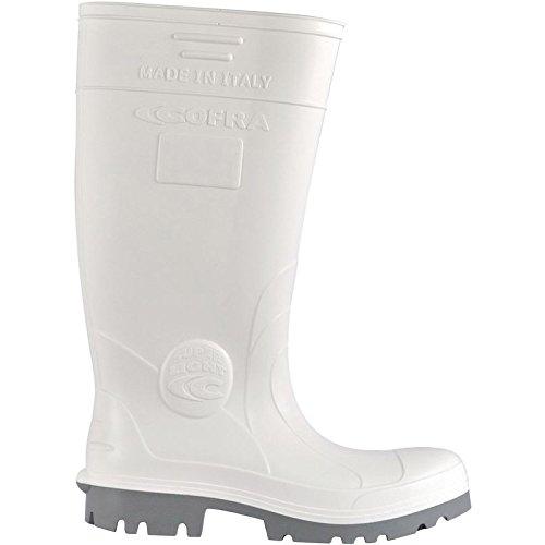 Cofra New Galaxy O4 Paire de Chaussures de sécurité Taille 47 Blanc