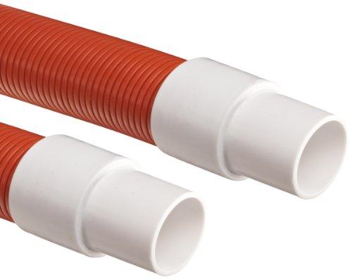"""Flexaust Genesis STM Polyethylene Duct Hose, Orange, 2"""" I..."""