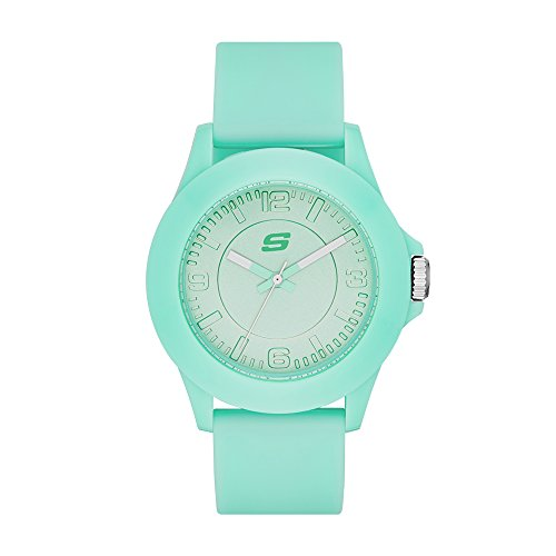 Skechers Women's SR6027 Analog Display Quartz Blue Watch