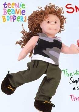TY Teenie Beanie Bopper - SNAPPY CINDY