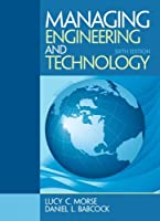 Managing Engineering and Technology, 6th Edition Front Cover