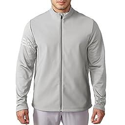 Adidas Golf Men\'s climawarm Hybrid Heathered Jacket - US M - Stone