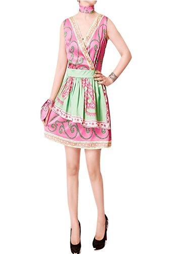 bcbg sleeveless v neck dress - 4