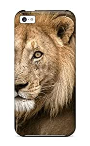 Series Skin Case Cover For Iphone 5c(animal Lion50)