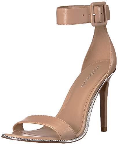 BCBGeneration Women's Janet Two Piece Sandal Heeled, Shell, 7 M US