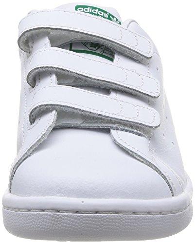adidas Stan Smith CF C - Zapatillas Para Niño Ftwwht/Ftwwht/Green