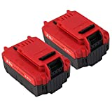 20V Max 6.0Ah Lithium PCC685L Replacement Battery Compatible Porter Cable PCC685L PCC680L Cordless Tools Batteries