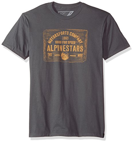 Homme Charbon Mark Alpinestars T Tee shirt 8SCwwdgq