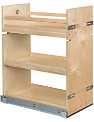 Century Components Base Cabinet Pull Out Organizer B Birch 11 875 X 26 75