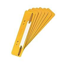 riginal Falken - Tiras de sujeción de plástico (250 unidades), color amarillo