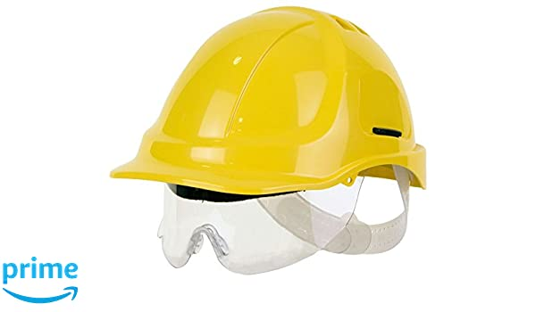 Casco de seguridad EN397 EN166 ABS: Amazon.es: Industria, empresas y ciencia