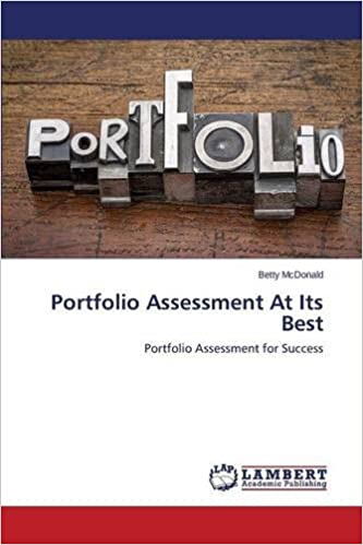 Book Portfolio Assessment At Its Best