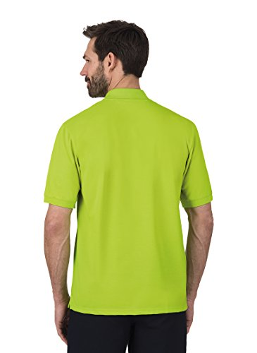 TRIGEMA TRIGEMA Polo-Shirt DELUXE Piqué Saum mit Seitenschlitzen