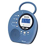 Best Shower Radios - Jensen Wireless Waterproof Shower Speaker Radio Bluetooth/NFC/Clock + Review