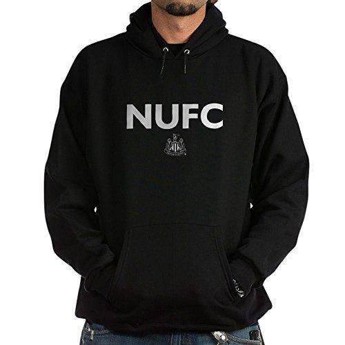 (CafePress Newcastle United FC Pullover Hoodie, Classic & Comfortable Hooded Sweatshirt Black )