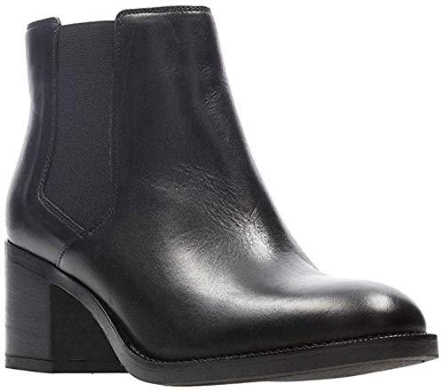 CLARKS Women's Mascarpone Bay Dress Ankle Boot Black 8.5 M US