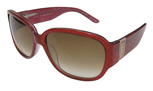 Elle 18885 Womens/Ladies Designer Full-rim 100% UVA & UVB Lenses Sunglasses/Shades (58-15-130, Red - Sunglass Elle