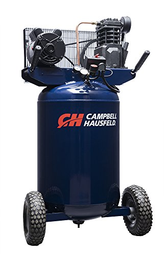 Campbell Hausfeld Air Compressor, 30-Gallon Vertical Portable Single-Stage 5.5CFM 2HP 120/240V 1PH (VT6358)