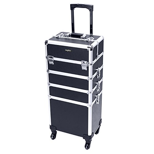 10 best trolley makeup train case for 2019