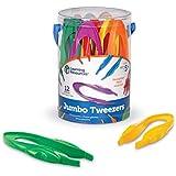 Learning Resources Jumbo Tweezers Set Of 12