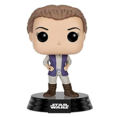 Funko POP Star Wars: Episode 7: The Force Awakens Figure - General Leia: Toys & Games