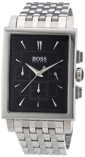 Hugo Boss Chronograph Black Dial Stainless Steel Mens Watch 1512873