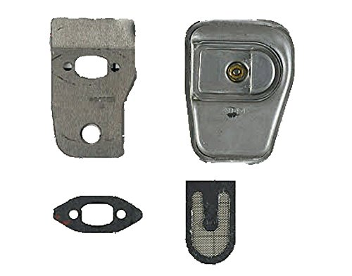 Poulan Craftsman Chainsaw Replacement Muffler Kit # 530071887 ()
