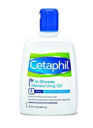 Cetaphil In-Shower Moisturizing Oil for normal to dry, sensative skin, 16.9 ounce