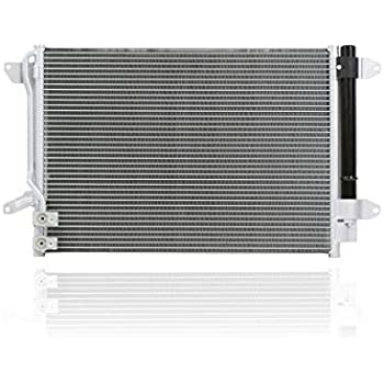 TYC 3889 A//C Condenser Assembly for Volkswagen Jetta 2011-2015 Models