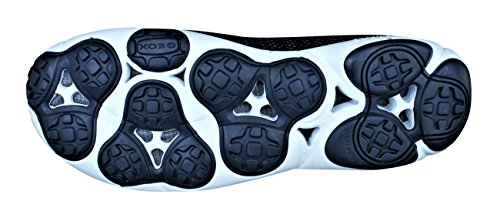 Geox Uomini Della Scarpa Da Tennis Blu Nebulosa