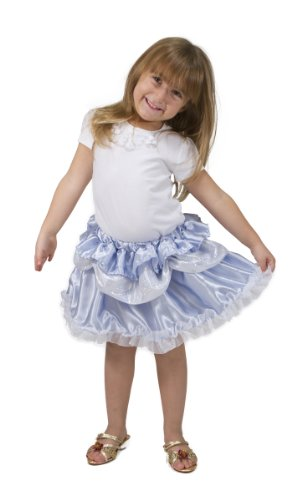 Melissa & Doug Role Play Collection – Goodie Tutus! Dress-Up Skirts Set (4 Costume Skirts)