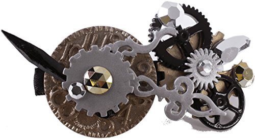 Open-Clock-Mechanical-Gears-Steampunk-Hair-Clip-Costume-Accessory