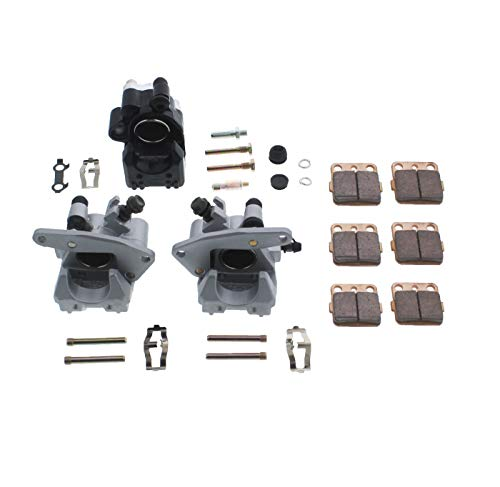 - Race Driven Front & Rear Brake Calipers & Pads for Honda TRX300EX TRX400EX TRX400X 300 400 EX X 300EX 400X 400EX