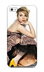 Best Tpu Case Cover For Iphone 5c Strong Protect Case - Scarlett Johansson 68 Design