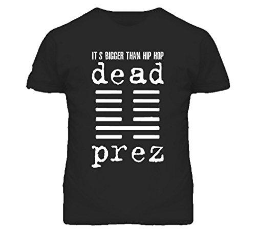 World Star HipHop Dead Prez Its Bigger Than Hip Hop Classic Hip Hop Rap T Shirt Black 5XL