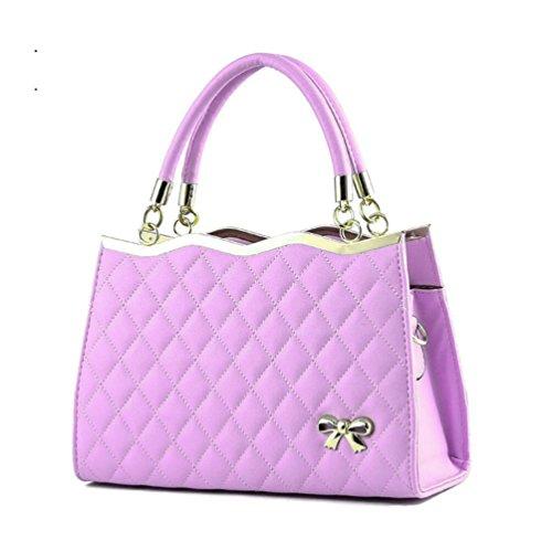 Top Fashion Purple Handle XibeiTrade Women Purse Shoulder Handbag Lady 5EqRzwR