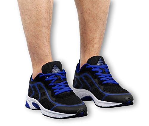 iLoveSIA - zapatilla baja hombre Negro + Azul