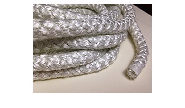 3//8 Wood Stove Door Gasket High Density 10 ft. roll Round Fiberglass Rope Seal